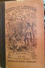 Libro De Lectura No 1 by American Book Company 1876 edition