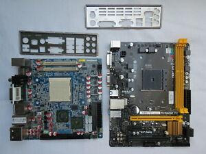 Two dead motherboards Biostar MATX FM2 & J&W Minix 780 ITX AM2 SPARES & REPAIRS