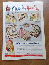 1940 Yardley Perfumes Ad Bond Street Lavender Gift Bath Freesia Orchis April etc