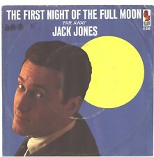 JACK JONES--PICTURE SLEEVE ONLY--(FIRST NIGHT OF THE FULL MOON)--PS---PIC--SLV