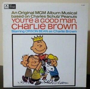 You're A Good Man, Charlie Brown - NBC Cast - 1979 Oz Reissue - NM / NM Vinyl LP