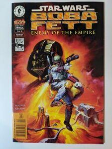 Star Wars Boba Fett Enemy Of The Empire #1 Dark Horse 1999 Newsstand Copy!