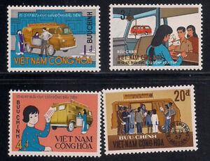 Vietnam-S.   1969   Sc # 351-54   MNH   (1-099)