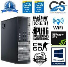 Cheap Gaming PC Dell Optiplex Quad i5 8GB Ram 1TB SSD Nvidia Geforce 1030 KIDS