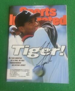 Tiger Woods October 28,1996 RC Cover Sports Illustrated Signed Auto JSA LOA Rare