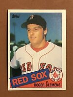 1985 Topps Roger Clemens Rookie Card #181 RC MINT OC - Red Sox