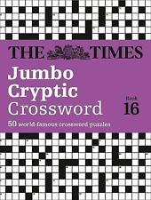 The Times Jumbo Cryptic Crossword Book 16: The world's most challenging...