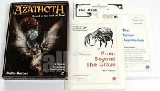 Call of Cthulhu SPAWN OF AZATHOTH BOXED SET 1986 Chaosium 2316-X VERY RARE