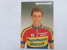 wielerkaart 1991  team  panasonic  maurizio fondriest