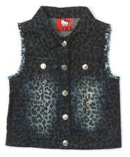 NEW Hello Kitty Light Denim Vest - Girls Size 10