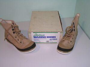 Hodgman Lakestream Wading Shoes Boots Size 11 19205 Felt Soles Fly Fishing Men