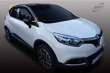 Smoke weathershields Weather Shields 4pcs for 2018 Renault Captur Zen Intense