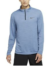 Nike Breathe Men's Size Superset 1/4 Zip Dri-FIT Pullover AR3716-422 Medium