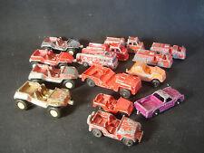 Old Vtg Midgetoy Tootsietoy Corgi Junior Diecast Car Jeep Fire Engine Toy LOT