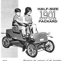 KIDS RIDE ON 1901 PACKARD CAR VINTAGE PLANS TO BUILD YOURSELF