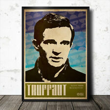 Francois Truffaut Art Poster Film Cinema Movie Tarkovsky Jean Luc Godard