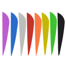 """50pcs 3"""" Archery Rubber Arrow Vanes Fletches Feather Fletching Diy Bow Hunting"""