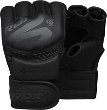 RDX MMA Gloves Sparring Martial Arts Grappling Cage Fighting Muay Thai Training