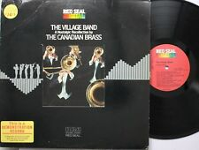 Jazz Lp The Canadian Brass The Village Band On Rca