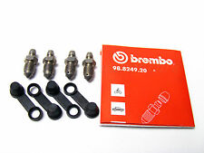 2x Sets Of Genuine Porsche Brembo Caliper Bleed Nipples Screws -93035191900