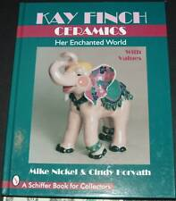 Kay Finch Ceramics by Cindy Horvath, Mike Nickel SIGNED