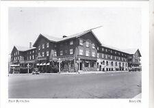 """+PC-Postcard-""""Pilot Butte Inn"""" (NW Corner of Wall & Newport)*Bend Oregon (#105)"""
