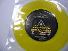 STRYPER Free/Calling On You 7 Inch Enigma EX [Yellow Colored] Christian Metal