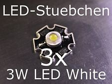 3x 3w High-Power LED kaltweiss 700ma