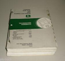 Werkstatthandbuch John Deere Traktor 7610 / 7710 / 7810 Stand 11/1997