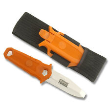 SCHRADE WRO ORANGE WATER RAT RIVER RESCUE KAYAK SCUBA DIVE KNIFE NEW BOX WR0