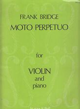 Moto Perpetuo-For Violin and Piano-Bridge-Sheet Music