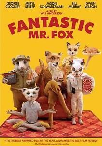 Fantastic Mr. Fox DVD Wes Anderson(DIR) 2009