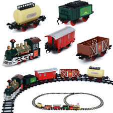 Jumbo Rocky Mountain Train Set Toy Christmas Kid Gift With Carriage Round Track