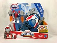 Playskool Heroes - Marvel Super Heroes - Iron Man - Arc-Tech Snowjumper - NEW