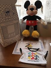 Build A Bear Workshop Limited Edition Mickey Mouse 90th Anniversary Brand New