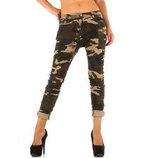 Denim Boyfriend Mid Rise Regular Size Jeans for Women