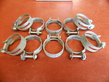 "NOS SPLIT BAND 1 1/2"" HOSE CLAMP LOT OF (10)"