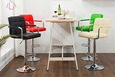 2 x Leather Kitchen Breakfast Bar Stool Barstools ,,0