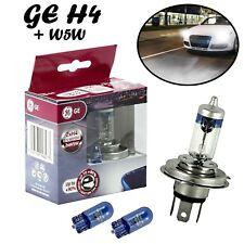 2x GE H4 60/55W 12V P43t Megalight Ultra +90% Ersatz Scheinwerfer Lampe + 2x W5W