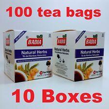 Badia - Natural Herbs Slimming Tea - Lose Weight (10 Pack) 100 tea bags
