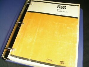 CASE 1150B Crawler Tractor Dozer Parts Manual Catalog Book F1223 OEM