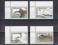 TIMBRE STAMP 4  GRENADINES GRENADE Y&T#834-37  OISEAU BIRD NEUF**/MNH-MINT ~A36
