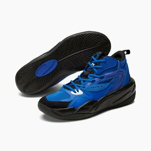 RS-DREAMER Mid Basketball Shoes Puma Royal Blue - Black Size 10
