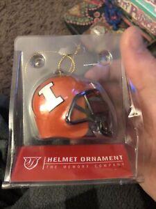 2017 Illinois Helmet Ornament