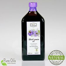 Ol'Vita Cold Pressed Unrefined Black Cumin Oil 500ml Ultimate Life Elixir