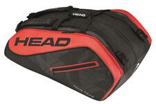 Head Tour Team 12R Monstercombi Tennis Racquet Racket Bag - Black/Red - Reg $90