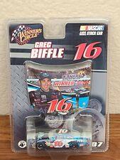 2007 #16 Greg Biffle Aflac Kansas Win 1/64 Winner's Circle NASCAR