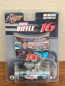 2007 #16 Greg Biffle Aflac Kansas Win 1/64 Winner's Circle NASCAR