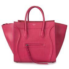 f497a1cc52e4 Celine Medium Luggage Phantom Bag In Fuchsia Baby Grained Calfskin Leather