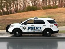 Manchester Tennessee Police Department SUV diecast car Motormax 1:24 scale